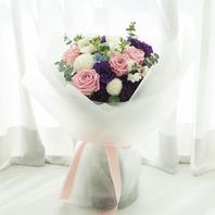 핑크장미꽃다발(핑크혼합)